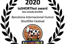 WINNER BEST COMEDY SHORT BARCELONA 2020